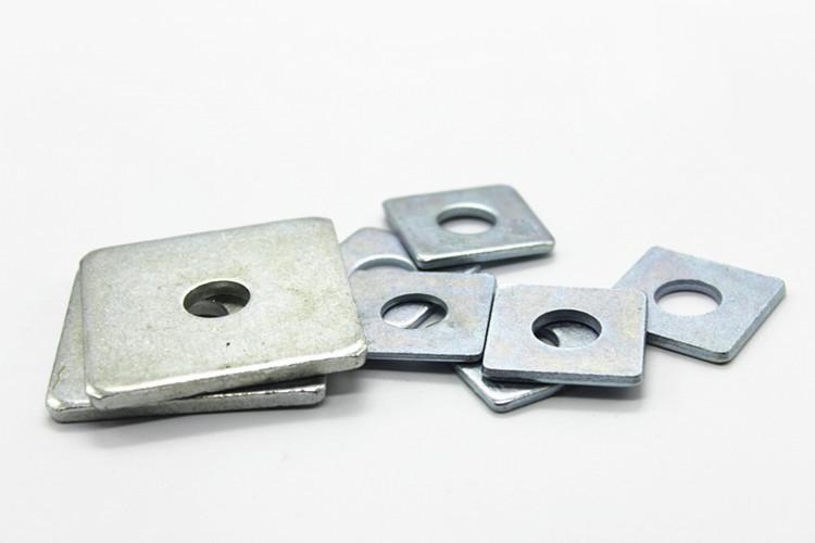 <b>304不锈钢冲压四方垫片/四方平垫 方型/正方形垫圈 幕墙用方垫M3-M16</b>